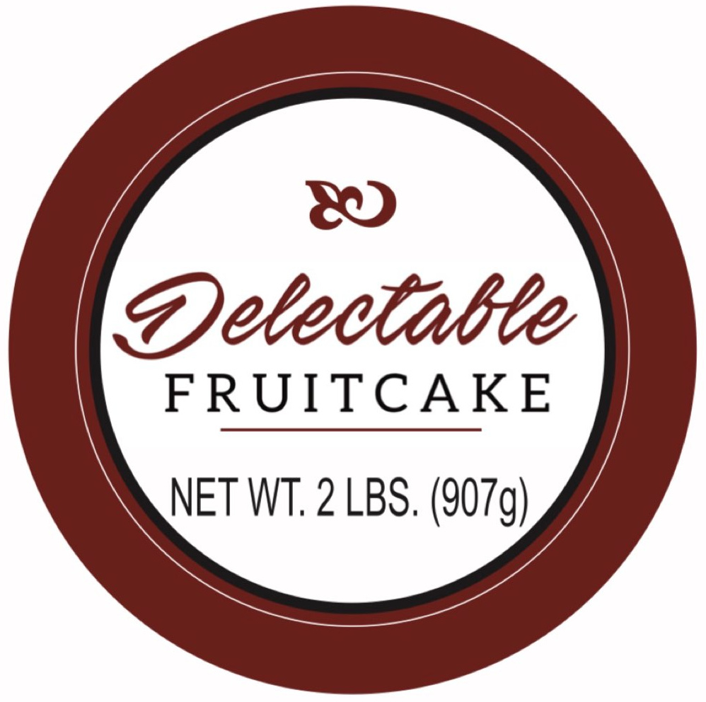 Delectable Fruitcake
